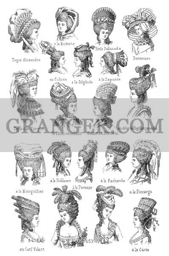 Fine Image Of Hairstyle 18Th Century French Hairstyles Of The Third Short Hairstyles Gunalazisus