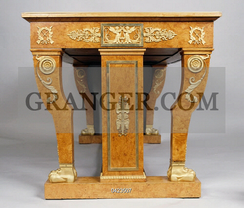 Image of DECORATIVE ARTS. - Restoration Style (Louis XVIII) Ash ...
