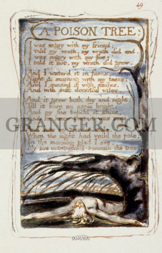 an analysis of a poison tree by william blake