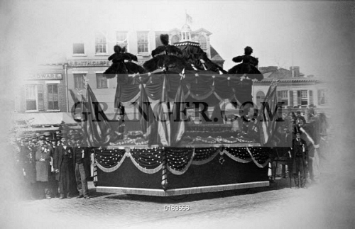 Image Of Lincoln Funeral 1865 President Abraham Lincoln S