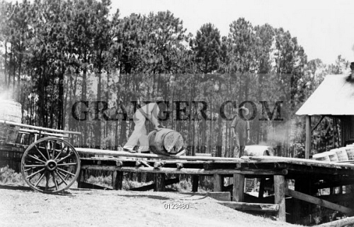 Image of TURPENTINE DISTILLERY, 1937  - African Americans