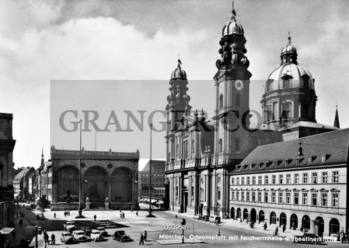 GERMANY MUNICH 1930s View Of The Odeonsplatz In Munich Germany Including