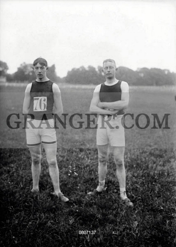 Image of French Selection For The 1912 Summer Olympics In ...